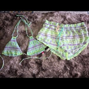 Other - NWT Victoria's Secret Swim Top and matching Short